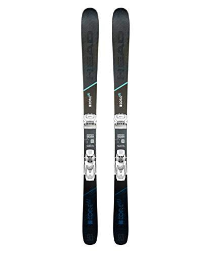 HEAD Women's Kore 93 W Graphene Grey/Blue Freeride All-Mountain Skis, Size: 153