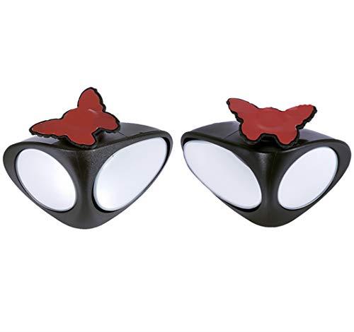JMAHM 2 Paar Tote Winkel Spiegel 360 ° Drehbar Doppelseitig Konvex Kann Einstellbarem Zusatzspiegel für Auto Sein