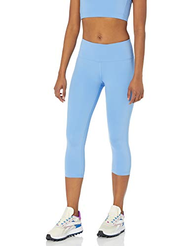 Amazon Essentials Mid Rise Capri Aktive Skulpt leggings-pants, blau (french blue), S