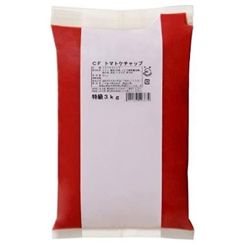 ハグルマ JAS特級 CFトマトケチャップ ピローパック 3kg×4袋入
