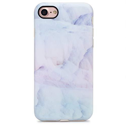 GOLINK iPhone 7 Case/iPhone 8 Case, Slim-Fit Anti-Scratch Shock Proof Anti-Finger Print Flexible TPU Gel Case for iPhone 7/iPhone 8 - Light Blue Cloud