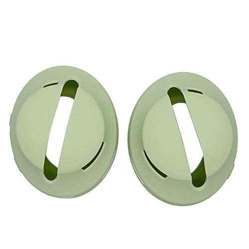 Ear Pads, 1Pair Soft Anti-Slip Silicone Headphone Cover Ear Pads Cushion Protector Replacement for Bose NC700 Wireless Bluetooth Headset - (Color: Green)