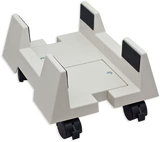 SYBA çelik Computer stand ATX Case için ayarlanabilir genişlik ve 4tekerlekli Bej SY-ACC65009