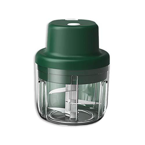 Magent Mini-Zerkleinerer für Lebensmittel, elektrisch, 300 ml, Küchenmaschine, Mixer, USB-Aufladung, tragbar, für Gemüse, Obst, Fleisch, Knoblauch, Zwiebel, Ingwer, Zerkleinerer mit 3 scharfen Klingen