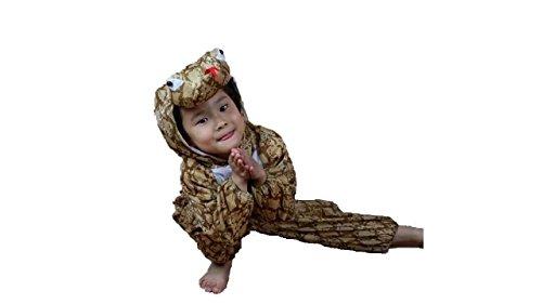Matissa Kinder Tierkostüme Jungen Mädchen Unisex Kostüm Outfit Cosplay Kinder Strampelanzug (Schlange, S (Für Kinder 80 - 90 cm groß))