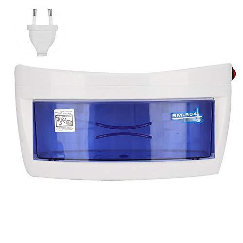 Redxiao Instrumento de Belleza, Herramienta de desinfección de uñas, desinfección de ozono UV, esterilizador de uñas, Caja de esterilizador de uñas, Limpieza y(European Standard 220V)