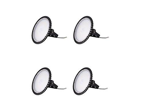 Yuanline LED Projecteur UFO ultra-mince Lampe Industriel LED Extérieur Spot Phare de Travail 200W pour extérieur stade intérieur place panneaux d'affichage usine entrepôt etc. (4)