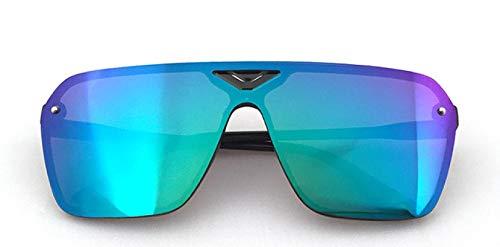 NJJX Gafas De Plástico Para Hombre, Deportes De Conducción, Gafas De Sol Deslumbrantes Para Hombre, Gafas De Sol Retro De Moda, Verde