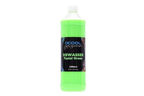 Alphacool 18552 Eiswasser Pastel Green UV-aktiv Fertiggemisch 1000ml Wasserkühlung Wasserzusätze