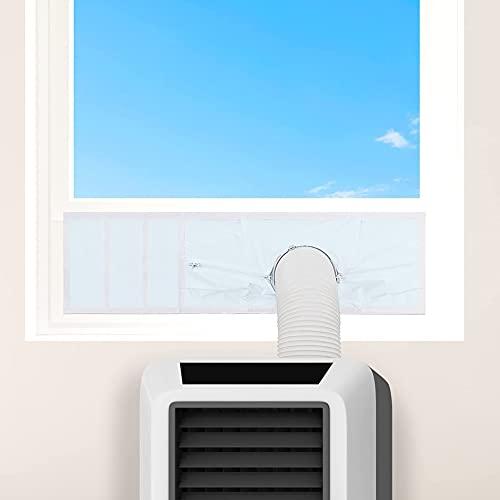 Nicejoy Sceau de fenêtre AC, kit de fenêtre Universelle Kit de climatiseur de la fenêtre d'étanchéité sur la fenêtre d'étanchéité pour la Maison et Le Bureau