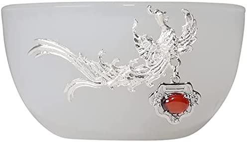 HG729 Sales results Max 48% OFF No. 1 85ML Jade China With Master Silver Dragon Teacups A