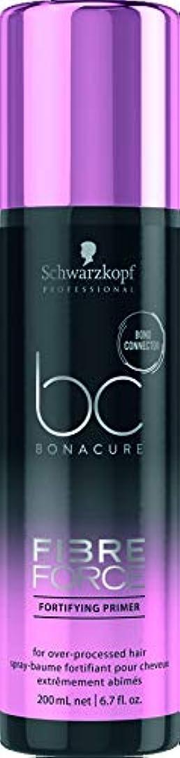 封筒パートナー翻訳するシュワルツコフ BC Bonacure Fibre Force Fortifying Primer (For Over-Processed Hair) 200ml/6.7oz並行輸入品