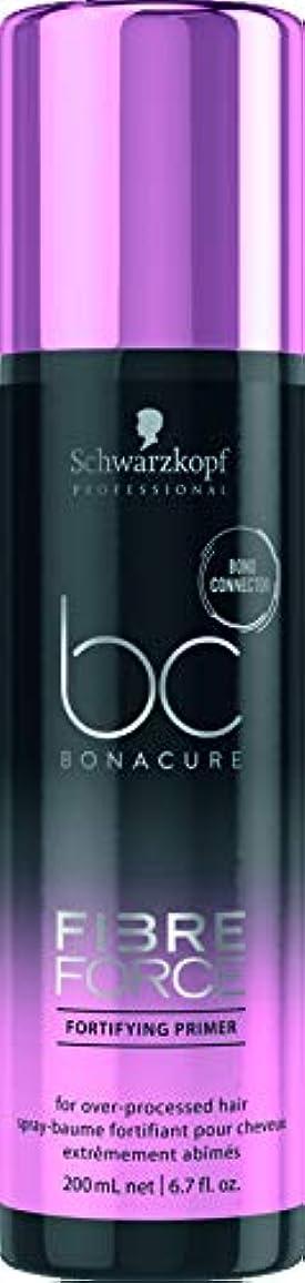 挑発するジョットディボンドン知り合いになるシュワルツコフ BC Bonacure Fibre Force Fortifying Primer (For Over-Processed Hair) 200ml/6.7oz並行輸入品