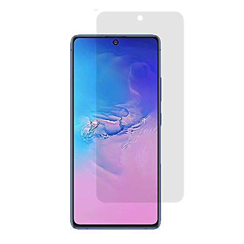 MANOJAVA Edge To Edge Samsung S10 Lite/M51/A71/Note 10 Matte Tempered Glass Screen Protector/9H Hard Screen Glass Guard (6.7-inch) Screen Guard for Samsung Galaxy S10 Lite (SM-G770F)