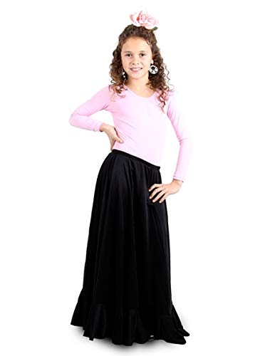 Faldas de Ensayo Niñas, Modelo MC2-4, Negro