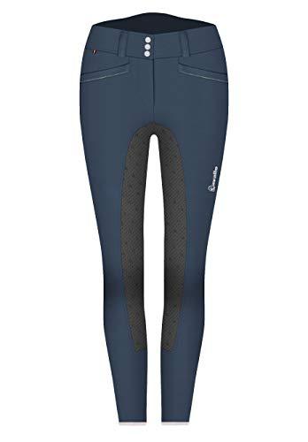 Cavallo Damen Reithose CIA Grip S dunkelblau-Graphite Sportswear 2020, Größe:76
