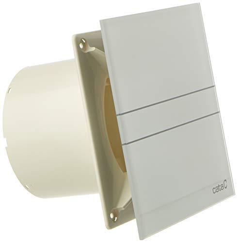 Cata Extracto de Baño, Modelo E-120 G, Potencia de Absorción 15 W, Extractor Baño Silencioso, 230 V, Velocidad 2600 r.p.m, Color Blanco