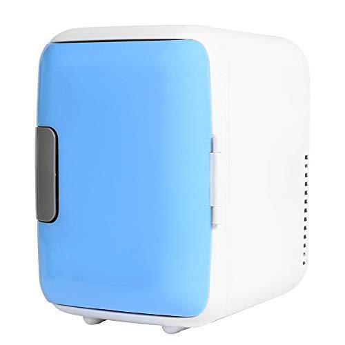 Matefielduk Mini-koelkast, draagbaar, klein, voor auto, koelbox, 12 V, 4 l, kunststof, koelbox (18 x 23 x 30) 23 * 18 * 30cm Rosa Roja