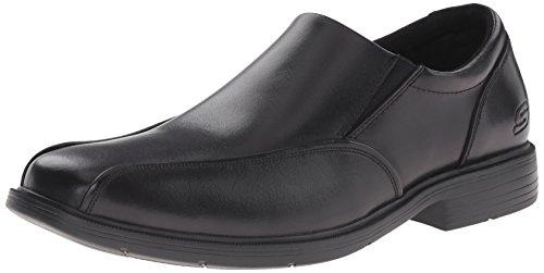 Skechers Men's Caswell Noren Slip-On Loafer,Black,11 M US
