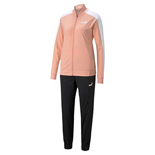 PUMA Baseball Tricot Damen Trainingsanzug Apricot Blush M