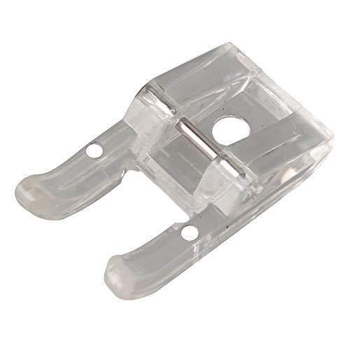 Jopto Prensatelas para máquina de coser con punta abierta, compatible con Brother, New Singer, Janome, Toyota