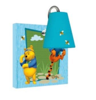 M.Service S.r.l. Lampe murale Disney Winnie l'ourson – Idéale pour la chambre des enfants !