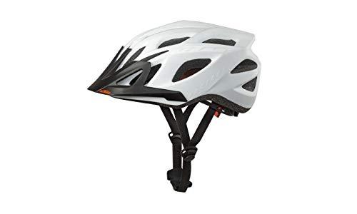 KTM Factory Line 2021 - Casco de ciclismo (58-62 cm), color blanco mate