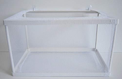 Aquaristikwelt24 Aufzuchtbecken Ablaichkasten Ablaichnetz Größe XXL Maße 26x15x15 Top Qualität