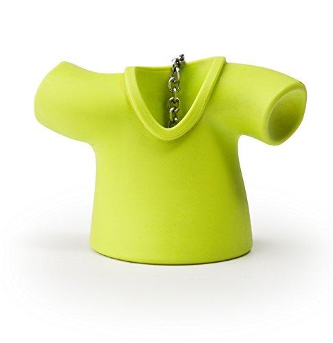 Qualy QL10099G thee-ei Tea-shirt van Qualy kunststof, groen
