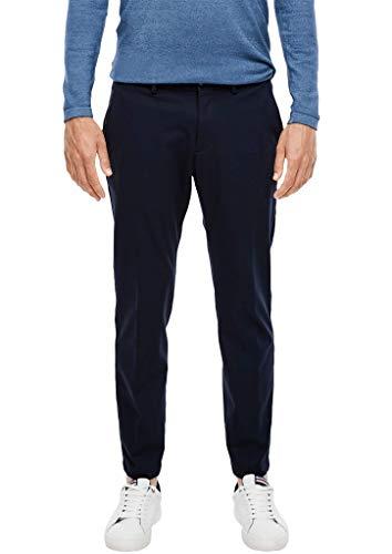 s.Oliver BLACK LABEL Herren Slim: Jogg Suit-Hose dark blue 46