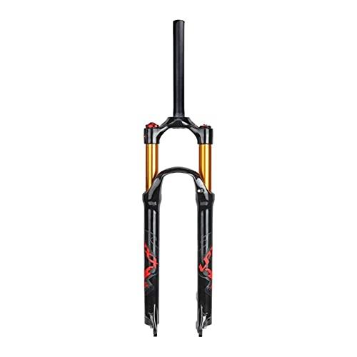Horquilla de Bicicleta, Horquilla Delantera MTB 26 27,5 29 Pulgadas Ultraligero 120 mm Suspensión de Bicicleta de Viaje Horquillas de Aire Amortiguador