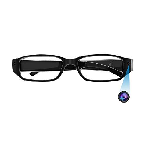 Cámara Espía, KAMREA HD 1080P Gafas de Cámara, Cámara de Grabación de Vídeo de Gafas para Reuniones, Viajes, Deportes