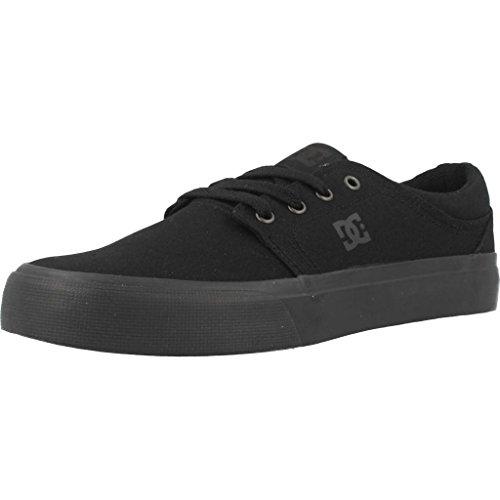 DC Trase TX-Shoes for Men, Espadrilles Mixte, Noir Black Black Black, 44 EU