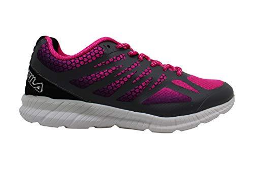 Fila Womens Memory Speedstride Low Top Lace Up Running Sneaker Pink