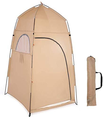 DIMPLEYA 120 * 120 * 210 Cm Refugio Ducha De Camping Fuera del Rango De Aire Libre Tienda Al Pesca Campaña Ducha Caliente La De
