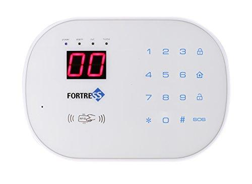 Fortress Security Store (TM) S02-F Wireless Home alarma sistema de seguridad Kit de bricolaje con marcación automática + sirena al aire libre