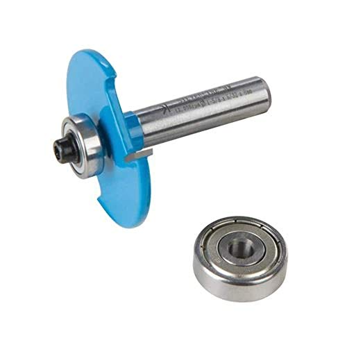 Silverline 249157 8-mm-Flachdübelfräser Nr. 10 u. 20,blau