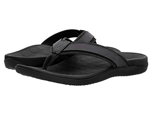 Vionic With Orthaheel Technology Mens Tide Sandal Black Size 13