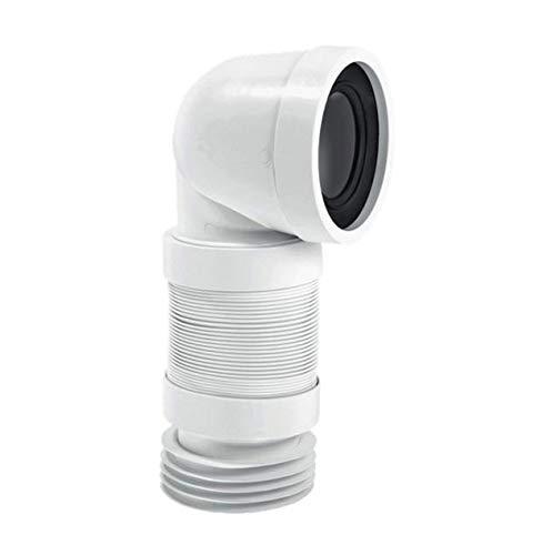 McAlpine wc-con8F 90Grad Flexible WC Anschluss–weiß