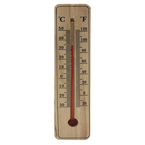 Cuigu - Termometro da parete, da esterno, per casa, giardino, casa, garage
