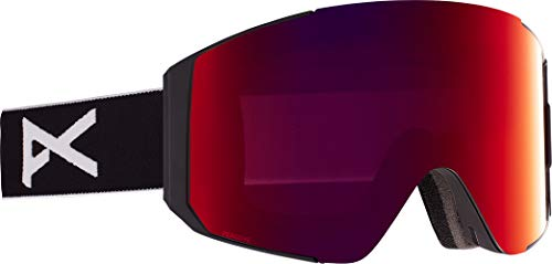 Anon Herren Sync Snowboard Brille, Black/Perceive Sunny Red