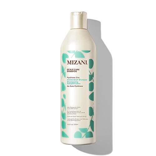 MIZANI Scalp Care Pyrithione Zinc Antidandruff Shampoo | Cleanses Hair & Scalp | for Curly Hair | 16.9 Fl Oz