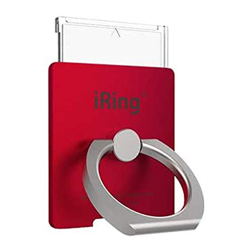 AAUXX iRing Link2 アイリング リンク2 ワイヤレス充電 落下防止 スマートフォン タブレット (RED)