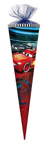Disney Pixar Cars Lightning Mc Queen große Schultüte 85cm Tüll/Textilborte 2017