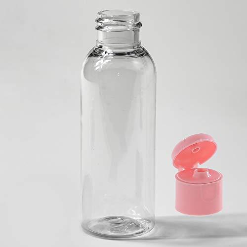 Flasche PET 100 ml FlipTop Verschlüsse für Lebensmitteln, Desinfektionsmittel und Kosmetik Mehrwegflasche