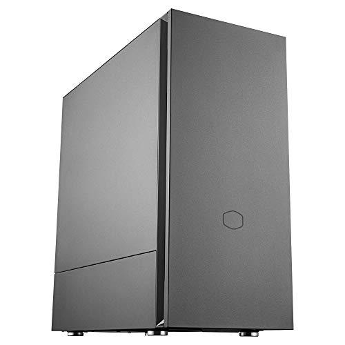 Cooler Master Silencio S600 Tower-Gehäuse (M-ITX/M-ATX/ATX), Schwarz