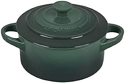 Le Creuset Stoneware Mini Round Cocotte, 14-Ounce, Artichaut