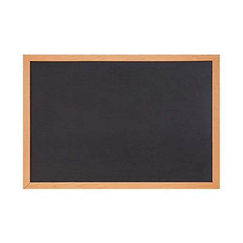 COMIX 24'x36'/ 2 x3 ft Chalkboard Blackboard for Home, School, and Office - Wood Frame (BB6090) Back to School/Campus