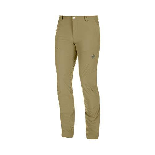 Mammut Pantalones para Hombre Runbold, Hombre, Pantalones, 1022-00480, Verde Oliva, 48