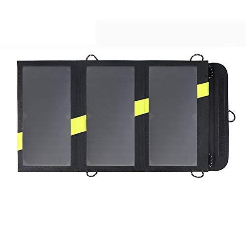 GNY Cargador Solar Solar Mobile Power Battery Charger 5V 20W Portátil Outdoor Outdoor Plegable Panel Solar Micro USB para iPhone de Xiaomi iPhone